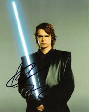 "HAYDEN CHRISTENSEN as ANAKIN SKYWALKER in ""STAR WARS: ATTACK of the CLONES""  Signed 8x10 Color Photo"