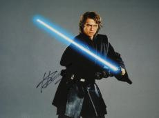 Hayden Christensen Autographed STAR WARS 11x14 Photo