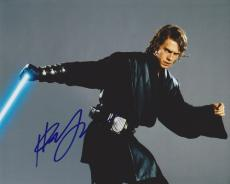 Hayden Christensen Autographed STAR WARS 8x10 Photo