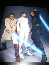 HAYDEN CHRISTENSEN SIGNED AUTOGRAPH 8x10 PHOTO STAR WARS PROMO IN PERSON COA D