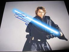 HAYDEN CHRISTENSEN SIGNED AUTOGRAPH 8x10 PHOTO STAR WARS PROMO IN PERSON COA E
