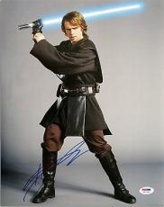 Hayden Christensen Signed Star Wars Authentic Autographed 11x14 PSA/DNA #H67299