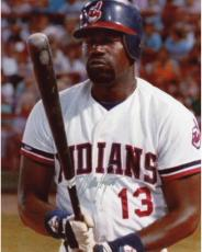 Dennis Haysbert Autographed 8'' x 10'' Baseball Uniform Photograph