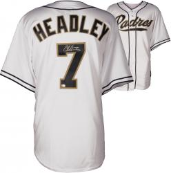 Chase Headley San Diego Padres Autographed White Jersey