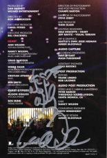 Heart Ann Wilson & Nancy Wilson Autographed Signed DVD Insert AFTAL