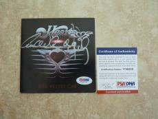 Heart Red Velvet Car Anne & Nancy Autographed Signed CD Cover PSA Certified