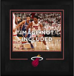 "Miami Heat Deluxe 16"" x 20"" Frame - - Mounted Memories"