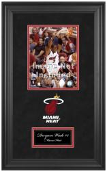 Miami Heat Deluxe 8'' x 10'' Team Logo Frame - Mounted Memories