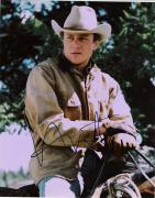 """HEATH LEDGER - Movies Include """"THE DARK KNIGHT"""" and """"BROKEBACK MOUNTAIN"""" = Passed Away 2008 - Signed 8x10 Color Photo"""