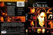 Heath Ledger The Order Signed DVD Cover Autographed PSA/DNA #W04811