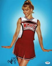Heather Morris Glee Signed 11X14 Photo Autographed PSA/DNA #V29209