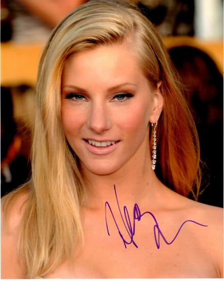 Heather Morris Signed - Autographed GLEE Actress 8x10 inch Photo - Guaranteed to pass BAS