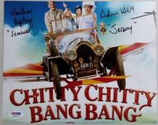 Heather Ripley Adrian Hall Dual Signed Chitty Chitty Bang Bang 8x10 Photo Psa