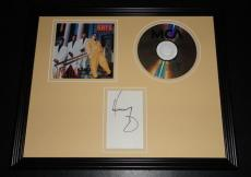 Heavy D Signed Framed CD & Photo Display