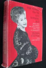 Hedda Hopper Signed Book THE WHOLE TRUTH 1963 Famous Gossip Columnist Died-1966