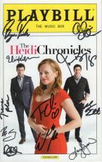 Heidi Chronicles Hand Signed Nyc Playbill+coa         Jason Biggs+elisabeth Moss