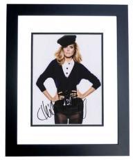 Heidi Klum Autographed Model 8x10 Photo BLACK CUSTOM FRAME