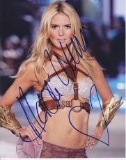 Heidi Klum Autographed Model 8x10 Photo