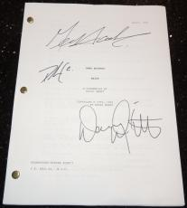 HEIST Autographed Full Script by Gene Hackman, Delroy Lindo, and Danny DeVito