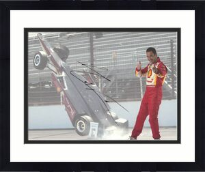Helio Castroneves Indy 500 Autographed Signed 8x10 Photo UACC RD AFTA