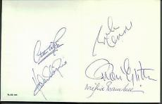 Hard Days Night! Beatles John Lennon Epstein Brambell +2 Signed  Book PSA/DNA