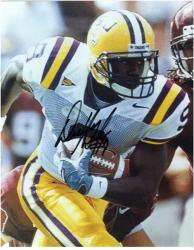 "Devery Henderson LSU Tigers Autographed 8"" x 10"" Photograph - Mounted Memories"
