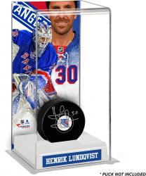 Henrik Lundqvist New York Rangers Deluxe Tall Hockey Puck Case