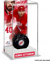 Henrik Zetterberg Detroit Red Wings Deluxe Tall Hockey Puck Case