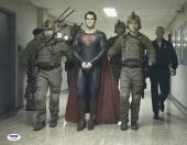 "Henry Cavill Autographed 11"" x 14"" Superman Man of Steel Handcuff Photograph - PSA/DNA COA"