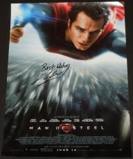 Henry Cavill Autographed SUPERMAN 11x17 inch Mini Movie Poster