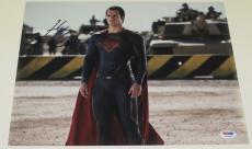 Henry Cavill Signed 11x14 Photo Autograph Batman V Superman Man Of Steel Psa F