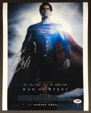 Henry Cavill Signed 11x14 Photo Psa Dna Coa Autograph The Man Of Steel Superman
