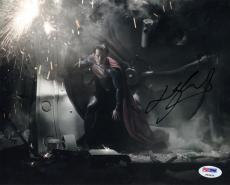 Henry Cavill SIGNED 8x10 Photo Superman Clark Man of Steel PSA/DNA AUTOGRAPHED