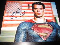 HENRY CAVILL SIGNED AUTOGRAPH 8x10 PHOTO BATMAN SUPERMAN COA AUTO RARE COA X6