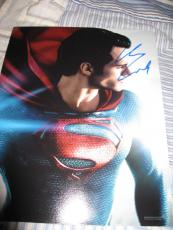 Henry Cavill Signed Autograph 8x10 Photo Man Of Steel Superman Promo In Person D