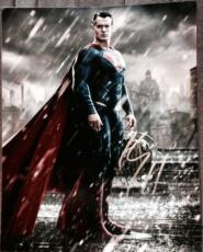 """Henry Cavill Signed Autograph """"superman V. Batman"""" Dawn Of  Justice Poster Photo"""