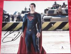 Henry Cavill Superman signed 8x10 photo Beckett BAS Authentic auto