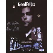 "Henry Hill GoodFellas Autographed 9"" x 11"" Movie Poster with Goodfella Inscription - BAS"