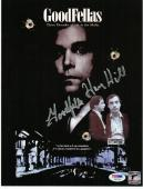 Henry Hill signed 8.5x11 Goodfellas Movie Poster PSA/DNA d 12