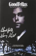 Henry Hill Signed Goodfellas Authentic Autographed 11x17 Poster JSA COA
