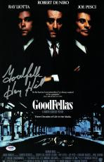 Henry Hill Signed Goodfellas Authentic Autographed 11x17 Poster (PSA/DNA) #1