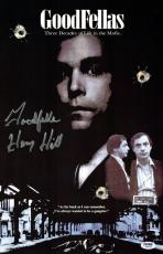 Henry Hill Signed Goodfellas Authentic Autographed 11x17 Poster PSA/DNA #2