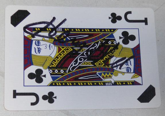 Henry Hill Signed Goodfellas Playing Card J Jack of Clubs PSA/DNA COA Gangster