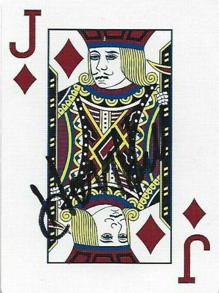 Henry Hill Signed Goodfellas Playing Card Jack of Diamonds PSA/DNA COA Gangster