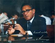 Henry Kissinger autographed 8x10 photo (United States Secretary of State) Image #SC1