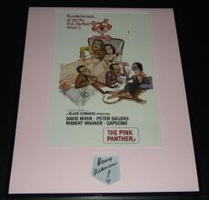 Henry Mancini Signed Framed 16x20 Photo Poster Display Pink Panther B