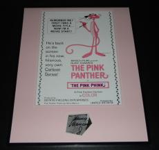 Henry Mancini Signed Framed 16x20 Photo Poster Display Pink Panther C