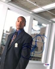 HENRY SIMMONS SIGNED AUTOGRAPHED 8x10 PHOTO NYPD BLUE RARE PSA/DNA