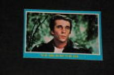 "Henry Winkler 1976 Topps Happy Days Signed Autographed Card #36 ""the Fonz"