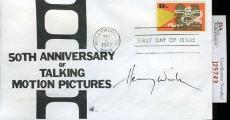 Henry Winkler 1977 Jsa Certed Fdc Authentic Autograph